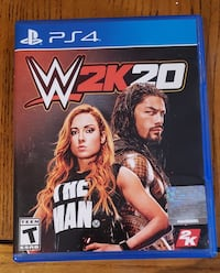 WWE 2K20 - PS4 - Like New - *Cash or Trade* Baltimore, 21211
