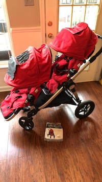 baby's red and black travel system Centreville, 20121