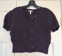 Cropped Knitted Cardigan Toronto