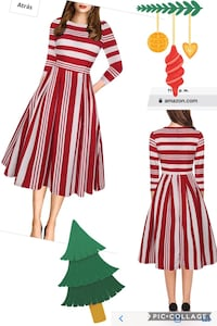 For christmas vintage dress new size L Las Vegas, 89107