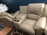 Recliner couch for 2 (tan) Charlotte, 28227