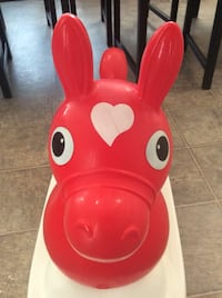 Rody the original horse. inflatable with base. For 6months to 6years old kid. Calgary, T3B
