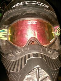black Azonic paintball mask Erath, 70533