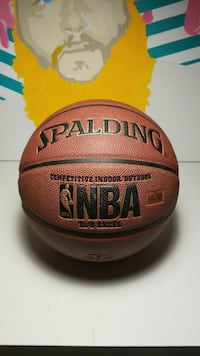 brown Spalding NBA basketball Surrey, V3R