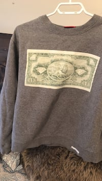 gray and beige crew-neck sweatshirt Surrey, V3Z 0M4