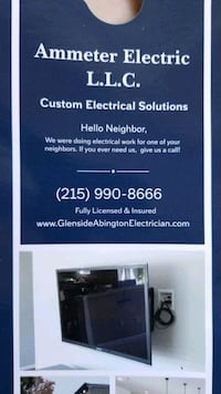 electrician Willow Grove