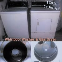 whirlpool washer and gas dryer  Franklin, 46131