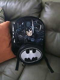 black and white Batman logo print bag Tampa, 33605