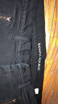 black and white True Religion denim bottoms Toronto, M6S 1R8