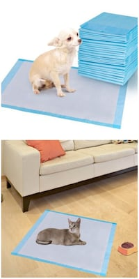 New in box 200pcs 24x24 inches pet wee pee piddle pad pet house training pads Los Angeles, 90032