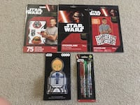 Star Wars stickers, Disney notepad, gels pens Calgary, T2Y 3V4