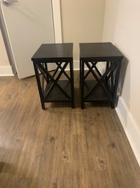 Two Safavieh End tables - $72 Washington, 20009