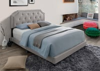 Twin,full or Quen Tufted Upholstered Bed**SALE $199.99**No Credit Needed Essex