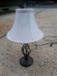 white and black table lamp Toms River, 08757