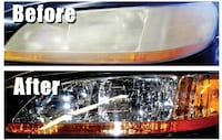 Car headlight restoration Stafford, 22554