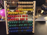Wooden Abacus  19 mi