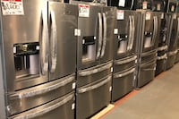 New Stainless steel french door refrigerator 10% off