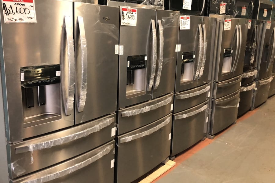 New Stainless steel french door refrigerator 10% off 7e677d6b-3edf-4829-9241-fbd9989bbf01