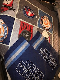 Star Wars Queen Quilted Cover w/cases Quincy, 02169