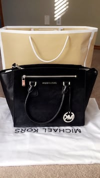 Brand new Michael Kors large Sophie calf hair satchel