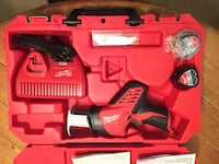 Red and black milwaukee cordless power tool with case Germantown, 20876