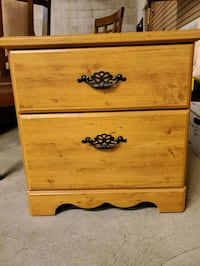 Bedside stand,  2 drawer