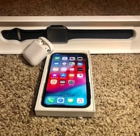 iPhone X , AirPods , and 42mm series 3 Apple Watch  Temple Hills, 20748