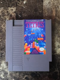 Nintendo Tetris Game Cartridge NES