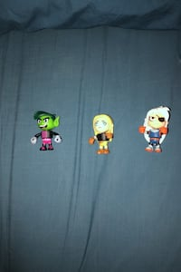 Mix and match teen titans figures