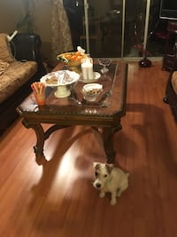 Living room set includes 2 couches and table 2267 mi