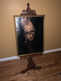 Easel and Conquistador Picture