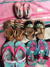 Size 6T Summer Girl Shoes North Las Vegas, 89031
