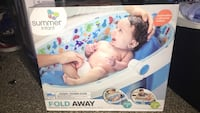 Baby's white and blue summer bather box Raleigh, 27603