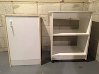 Storage cabinet and wheeled shelf Owings Mills, 21117