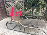 Lounge chair (has a small rip, see picture) $30OBO Winnipeg, R3C 0L5
