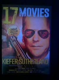 17 Movies featuring kiefer sutherland DVD case Lake Mills, 53551