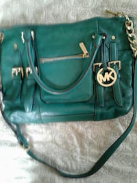 green Michael Kors leather 2-way handbag Harlingen, 78552