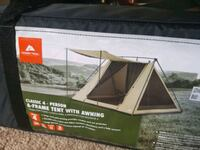ozark trail 4 person tent with awning  Hagerstown, 21740