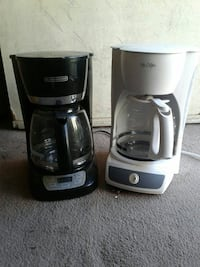 black Black&Decker and white Mr.Coffee coffeemakers Imperial Beach, 91932