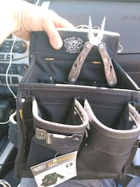 black and brown leather tote bag Puyallup, 98373
