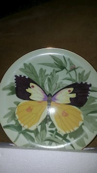 antique plate decorated plate Spring Grove, 17362