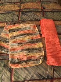 2 hand made knitted scarves Las Vegas, 89130