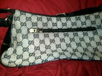 white and gray monogrammed Gucci purse Chattanooga, 37404