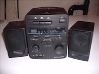 AM/FM cassette/clock mini stereo Vaughan