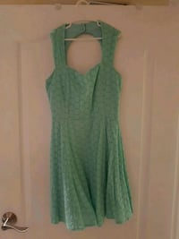 Teal dress size small