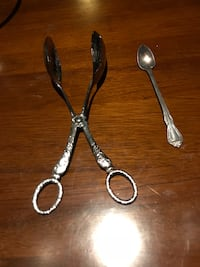 Silver Plated Tong and Spoon Englewood, 80112