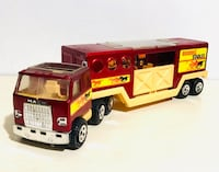 Vintage 1980 Buddy L Stables Horse Tin Truck & Trailer In great Condition Milton, L9T 3Z3