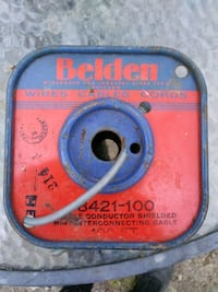 blue and red Belden wire cables cords Springfield, 65803