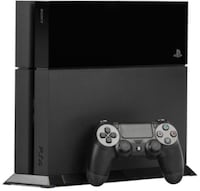 black Sony PS4 console with controller Edon, 43518