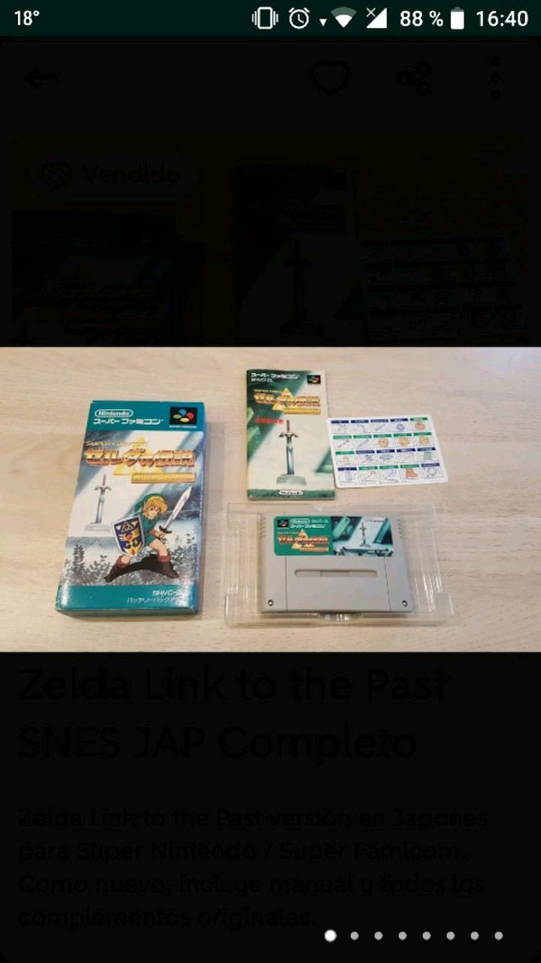 Zelda 3 super famicom